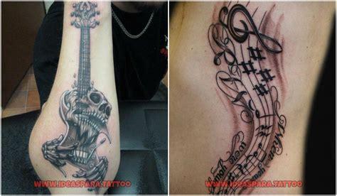 imagenes de notas musicales tatuajes tatuajes de musica ideas para tatuajes de hombre