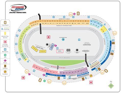 bristol motor speedway 3d seating chart richmond international raceway seating chart richmond