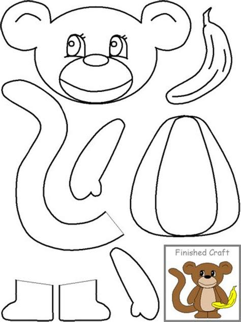 new year monkey masks templates crafts actvities and worksheets for preschool toddler and