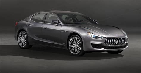 Maserati Ghibli Sedan by 2018 Maserati Ghibli Granlusso Gransport Refreshed Sedan