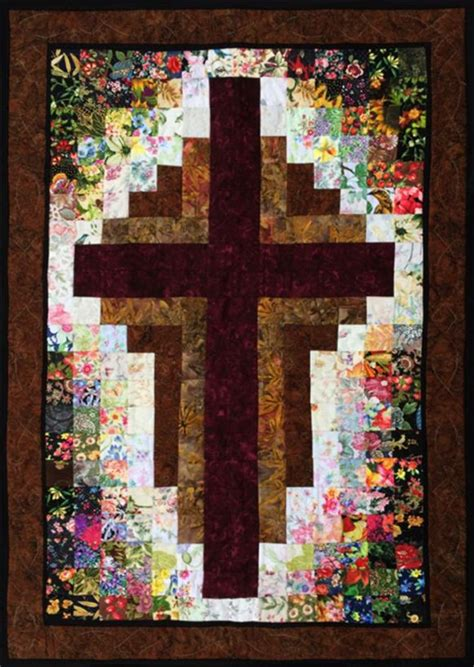 quilt pattern radiant cross quilt 8 radiant quilt pattern and fabric kit at
