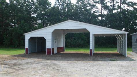 Find Metal Carports 44x21 Vertical Style Seneca Barn