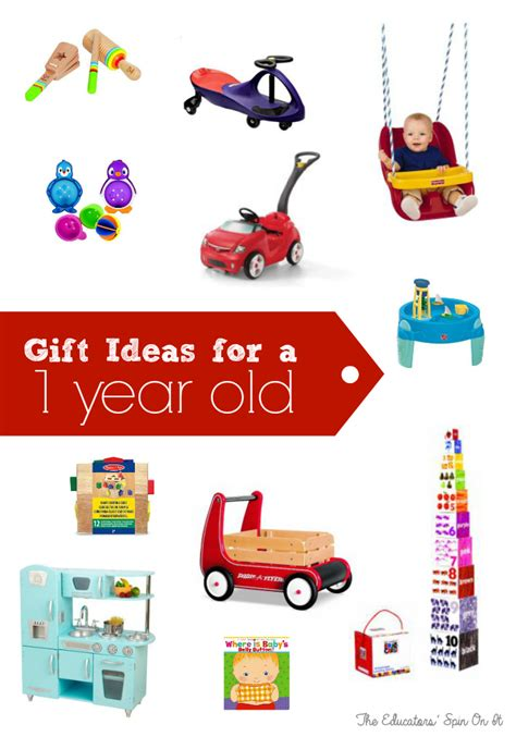 best gift for on s day best birthday gifts for one year the educators spin