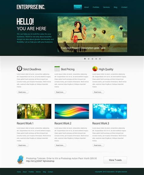 design web page layout online 10 best photoshop web layout design tutorials 2013