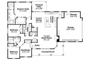 Ranch Floorplans Ranch House Plans Brightheart 10 610 Associated Designs