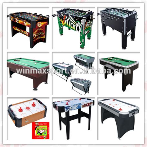 Classic Sports Foosball Table by Wholesale China Factory Supplier Classic Sport Foosball