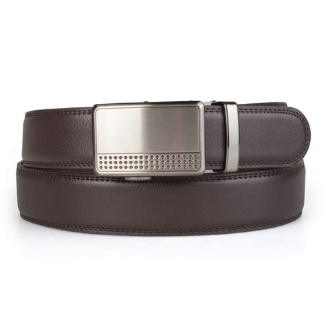 daxx mens adjustable genuine leather ratchet belt ebay