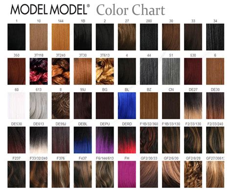 Similiar Human Hair Wig Color Chart Keywords