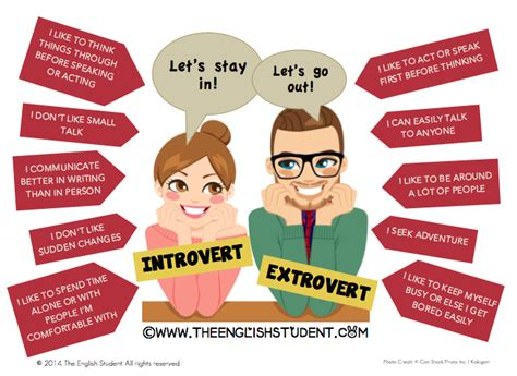 extrovert vs introvert quotes quotesgram