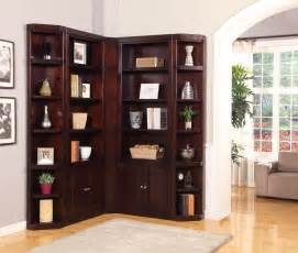 Wall Bookcases With Doors Boston L Shape Bookcase Wall Parker House Bos 430 2 450