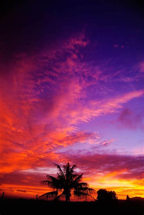 colorful sky mauritius beautiful mauritius