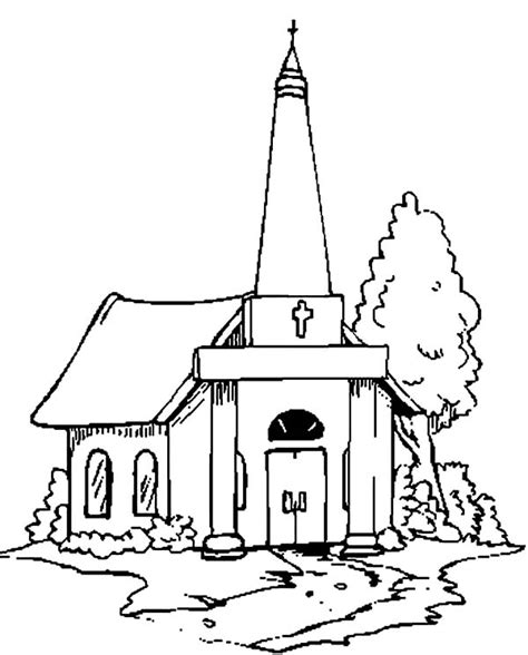 church house coloring pages 30 church coloring pages coloringstar