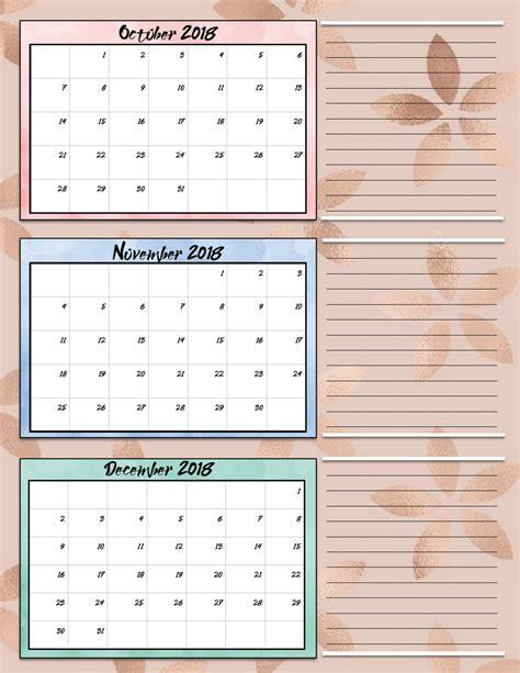 printable calendar first quarter 2015 free printable 2018 quarterly calendars 2 designs