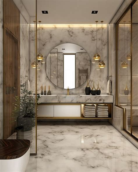 Modern Bathroom Interior Design Ideas by Luxurious Bathroom On Behance Ideas For Home In 2019