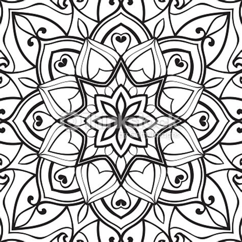 Turkish Carpet Patterns by Template For Stencil Vector Art Thinkstock