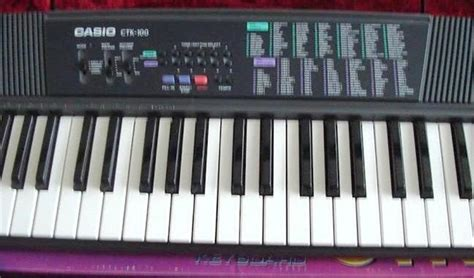 Keyboard Casio Ctk 100 Casio Ctk 100 Keyboard Synth W Size
