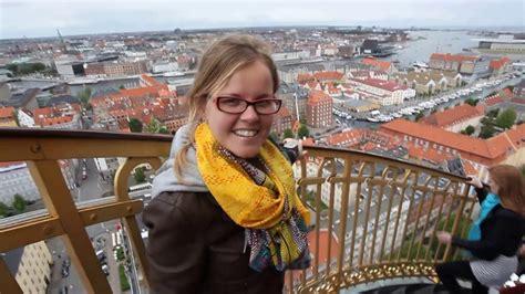 Copenhagen To Queue For Shortcut 7 by View From Church Of Our Saviour Copenhagen Denmark