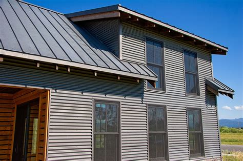 metal siding houses bonderized siding and roofing exterior pinterest steel metal standing seam roof and