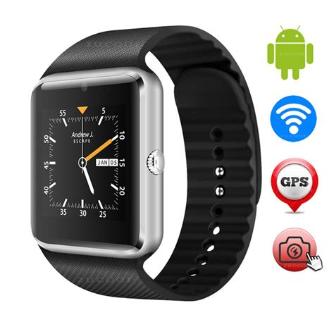 Sale Smartwatch Gt08 Black Smart Gt08 Sim Sms buy wifi and 3g android smart gt08 plus in pakistan
