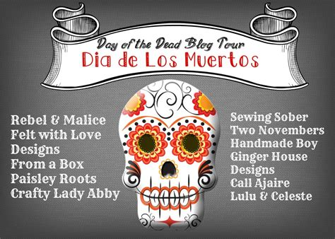 design in malice meaning day of the dead blog tour felt sugar skull ornaments