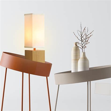Rectangular Table L Shade by Finether 15 H Wood Table L For Table Desk With