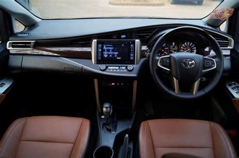 interior innova new toyota innova crysta 2017 price features automatic