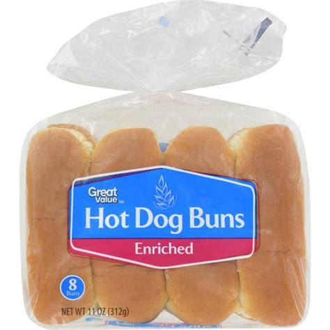 buns walmart great value buns 8 count 11 oz bakery bread walmart