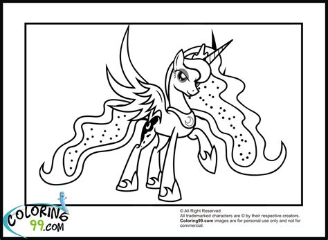 my little pony coloring pages princess luna and celestia pin princess luna coloring page ajilbabcom portal on pinterest