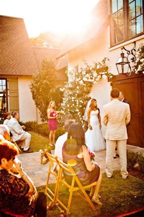 small intimate backyard wedding tara matt s southern wedding on the river