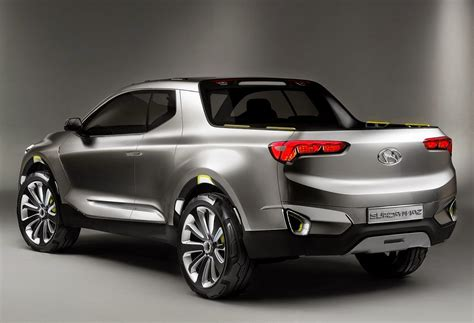 hyundai crossover truck hyundai santa cruz crossover truck concept car reviews