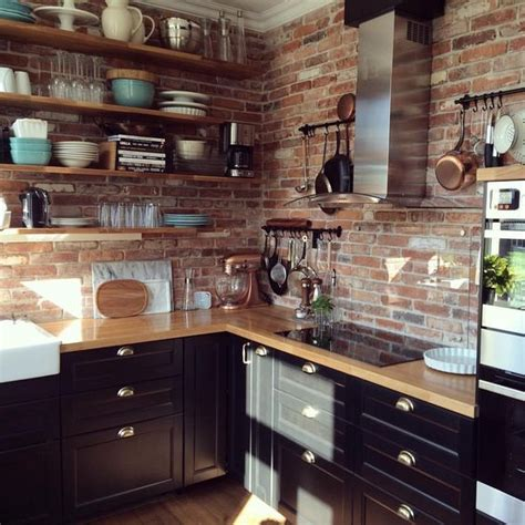 normal interior decoration kitchen interior inspiration kitchen brick counter