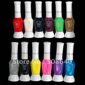 fashion nails tools 12colors nail art polish pen for fingernail drawing beauty desgin
