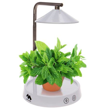 mindful design multi led indoor herb garden grow light