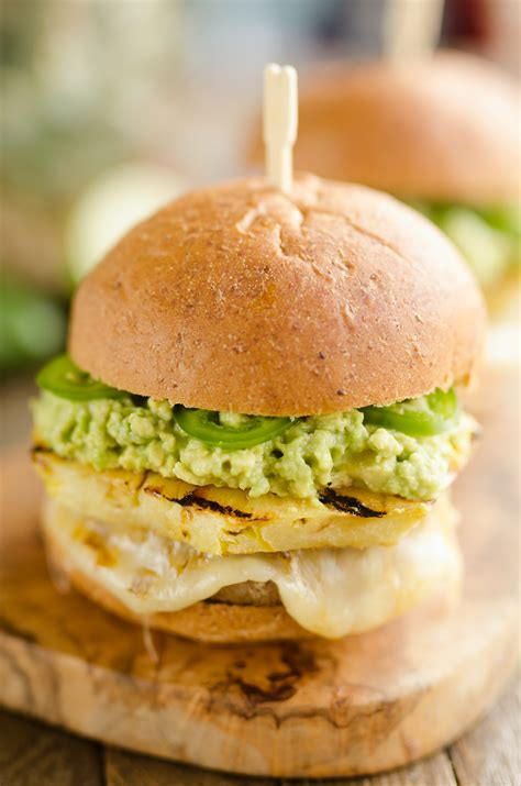 turkey burger with guacamole recipe grilled pineapple guacamole turkey burgers 20 minute