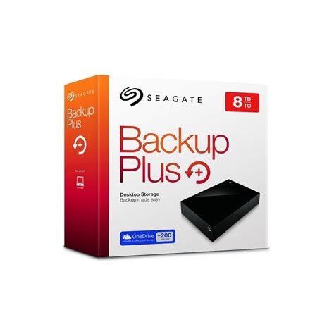 Murah Seagate Harddisk External 2tb Back Up Plus Slim Pouch 8tb 3 5inch usb 3 0 desktop external hdd seagate stdt8000200 backup plus