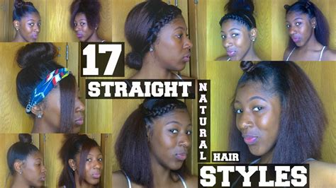 styles for old straight natural hair 17 natural hairstyles for short naural hair youtube
