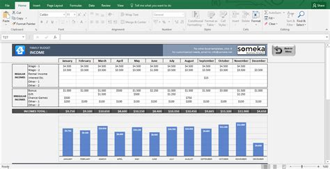 excel household budget template family budget excel budget template for household