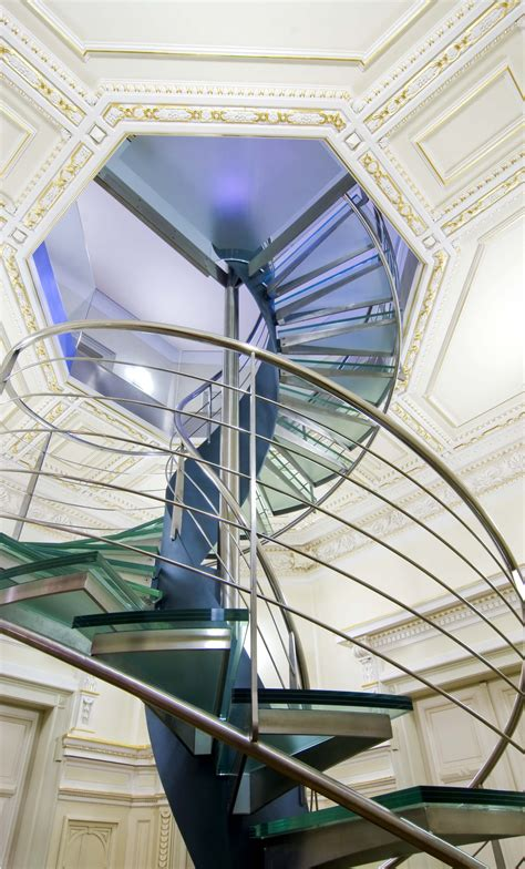 glass dome room cool spiral glass staircase ifresh design