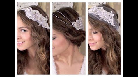 diy 3 boho bridal hair accessories