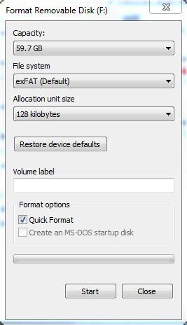 exfat format good or bad how to format a usb thumb drive for your car a solution