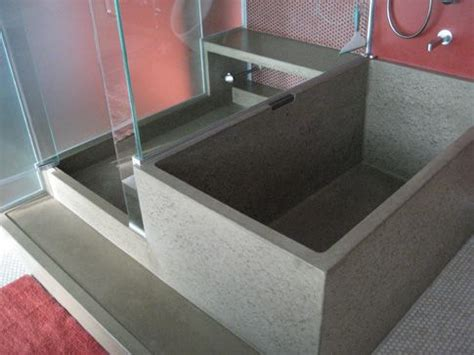 dog showers bathtubs best 25 concrete bathtub ideas on pinterest concrete
