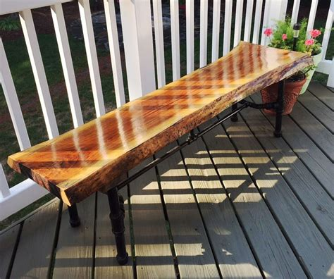 A First Time Waterlox User Finished His Walnut Bench With Outdoor Wood Furniture Sealer