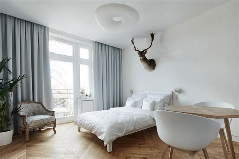minimalist apartment design a minimalist studio apartment in krakow design milk