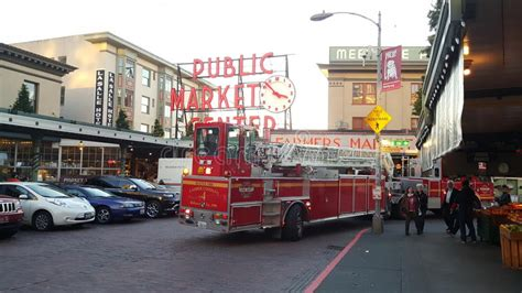 rescue seattle seattle rescue at pike place market editorial photography image 62709992