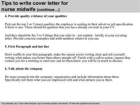 Midwife Cover Letter by Midwife Cover Letter