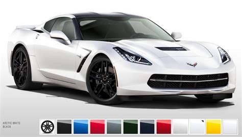 2014 corvette colors 2014 corvette color configurator launched