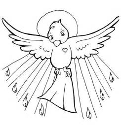 holy spirit coloring page gallery for gt holy spirit dove coloring page