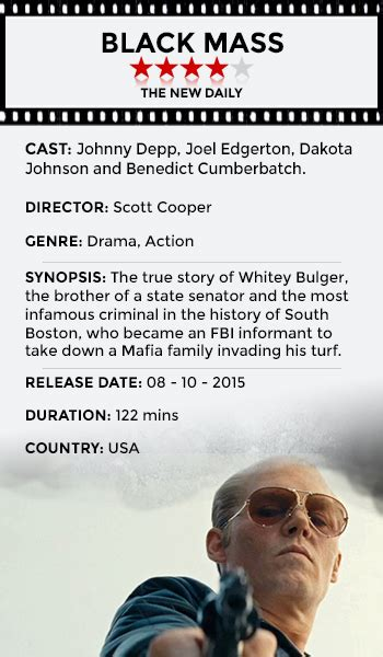 gangster film based on true story why black mass is depp s best chance for an oscar the