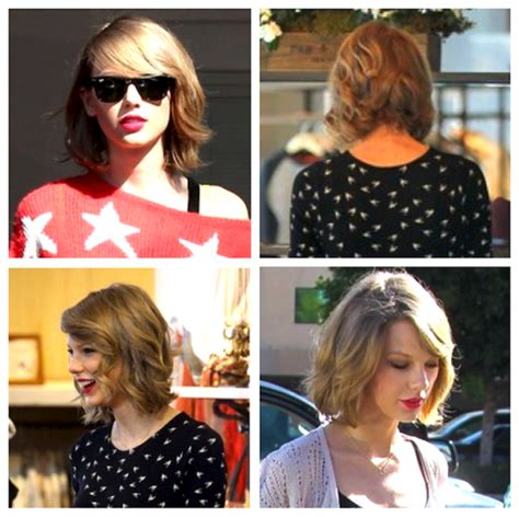 taylor swifts new haircut 2014 every angle of taylor swift s new haircut pink the town