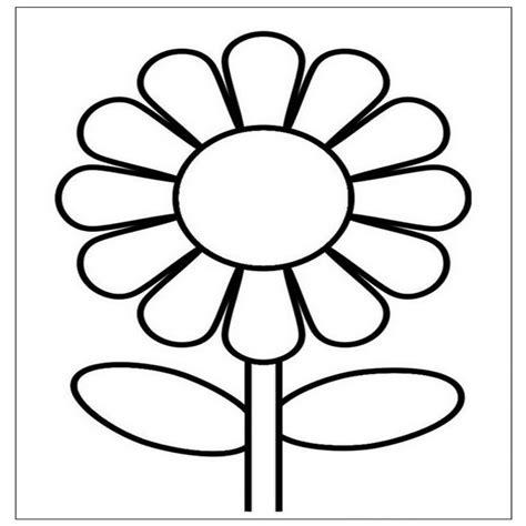 fiori e bambini disegni di fiori per bambini